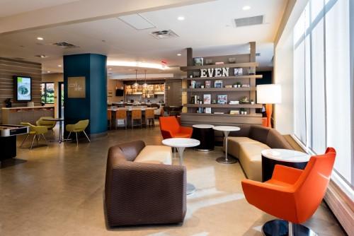 EVEN Hotels Brooklyn Lobby