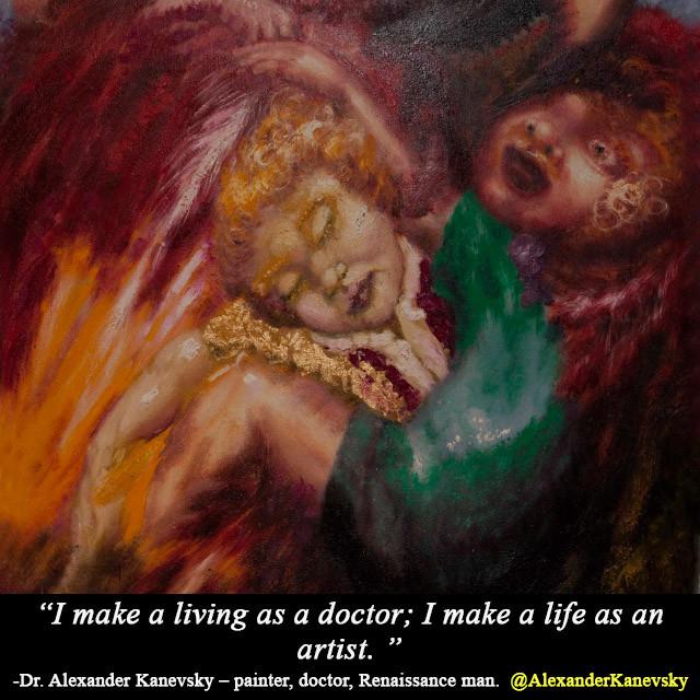 Alexander Kanevsky - Life as an artist