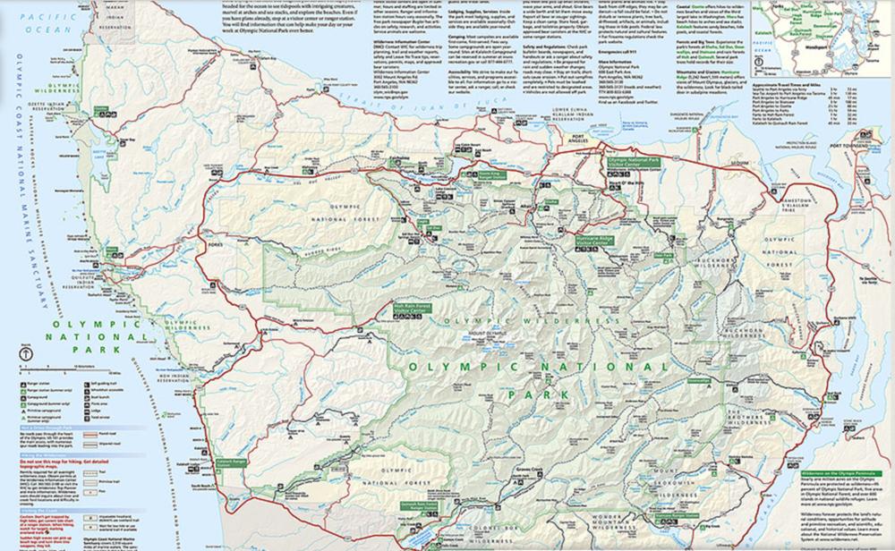 olympicnationalparkmap
