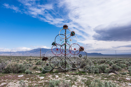 Installation art peppers the landscape surrounding Great Basin National Park. It's obscure, absurd, confusing—all of the best forms of DADA. Marcel Duchamp would be proud.