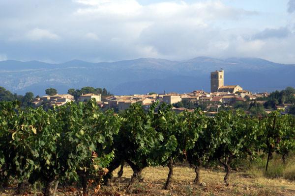 Azille a 14th century village