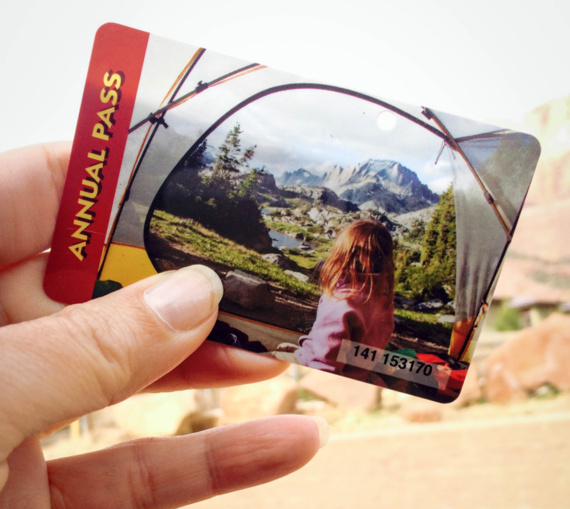2014's Annual National Park Pass. Credit: Stefanie Payne