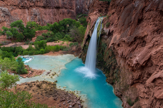 Havasu Falls, Havasupai, Grand Canyon National park, Arizona