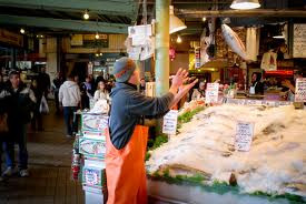 The Pike Place Market, Seattle Washington