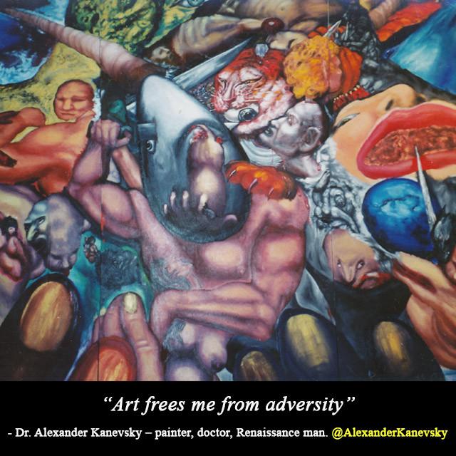 Alexander Kanevsky - Art Frees me