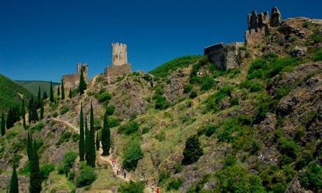 The Lastour castles