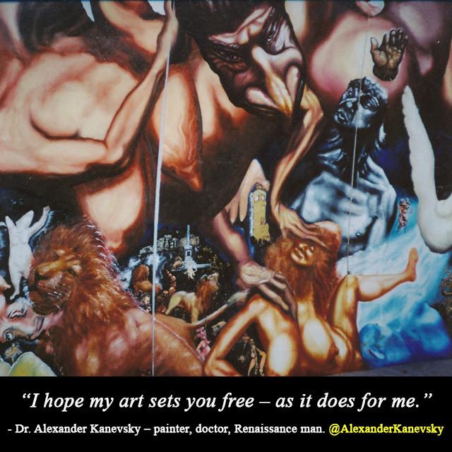 Alexander Kanevsky - Art sets me free
