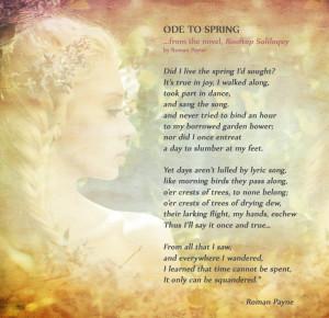 roman payne ode to spring
