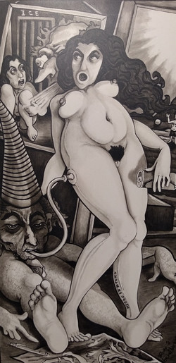 """Maid in Mexico 3""""x6"""""""