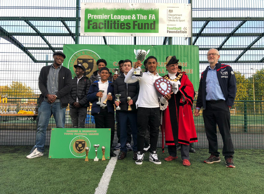Under 18's Awarded by Mayor and Jeremy Corbyn