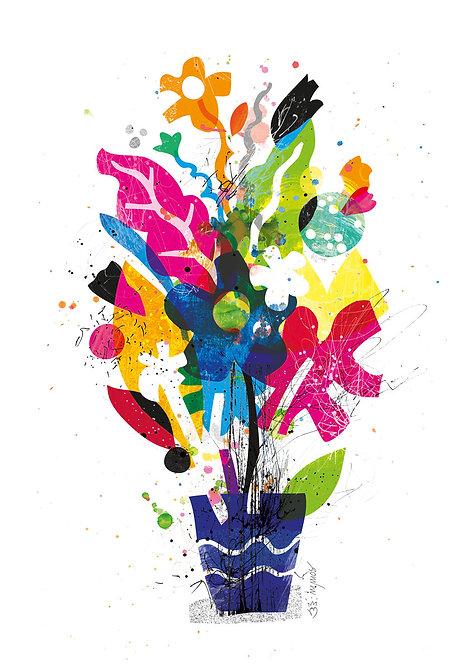 Ilustração Todas as Flores