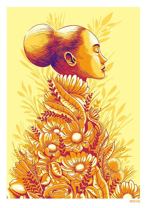 Ilustração Florescer