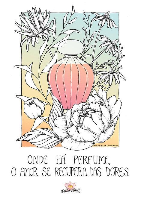 Ilustração Mantra Perfume