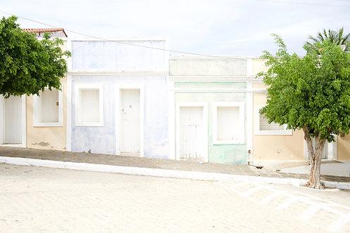 Fotografia As casinhas do semi-árido