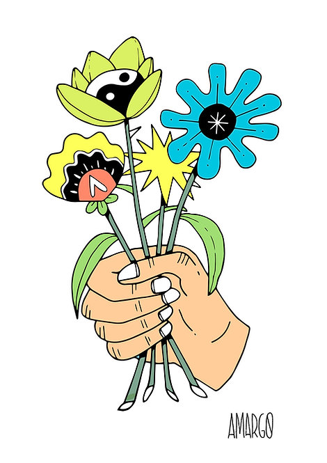 Ilustração Buquê