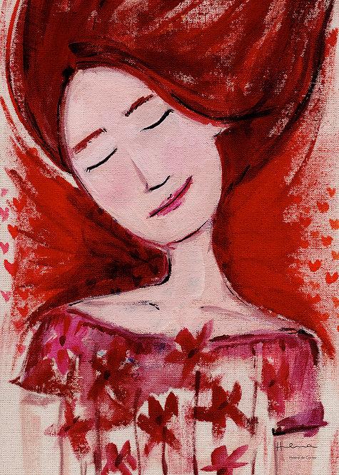 Ilustração Brotou em Mim