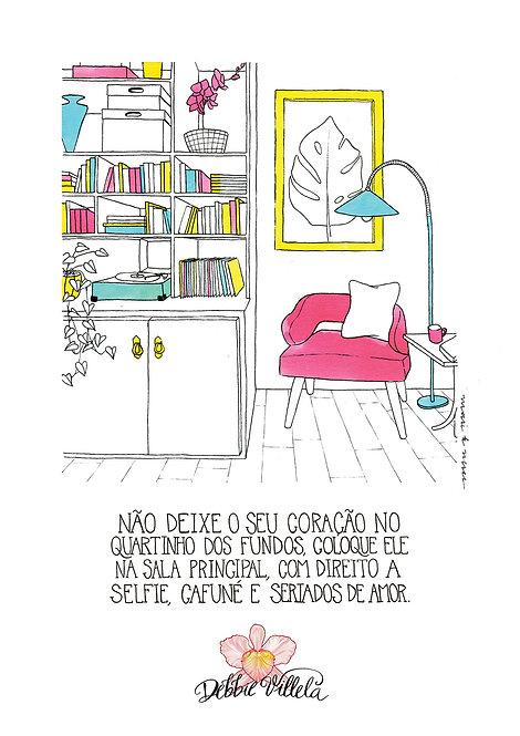 Ilustração Mantra Cantinho