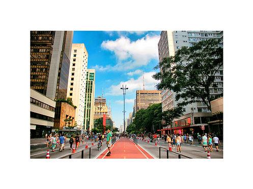Fotografia Av. Paulista - SP
