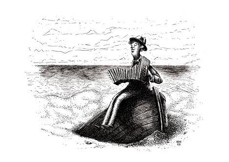 Ilustração Canção aos que ficam