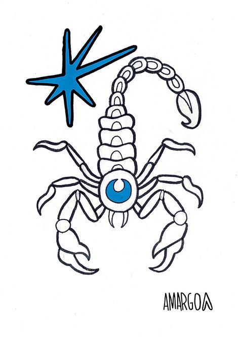 Ilustração Escorpião