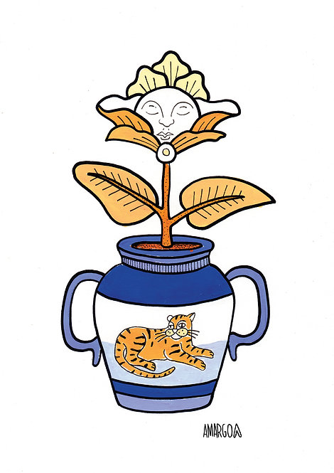 Ilustração Planta