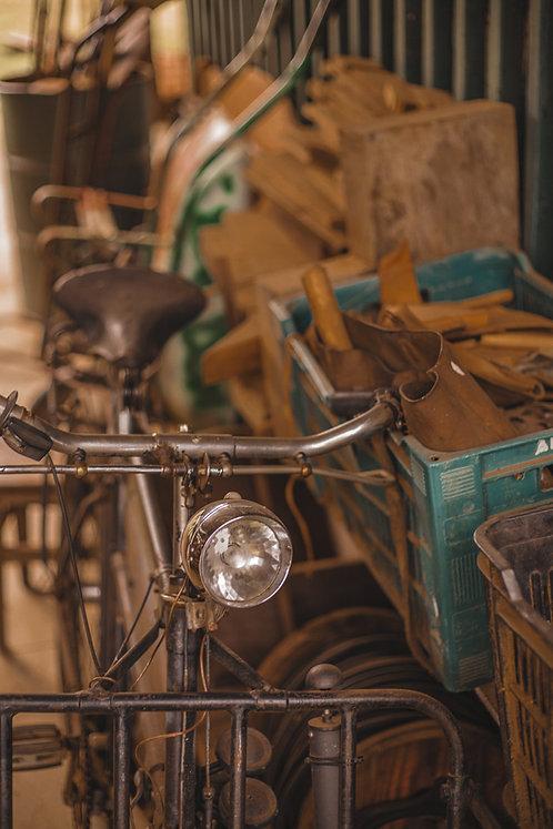 Fotografia Bicicleta de Lata de Cinema