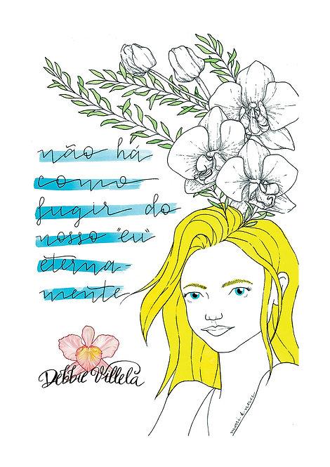 Ilustração Mantra Autoconhecimento