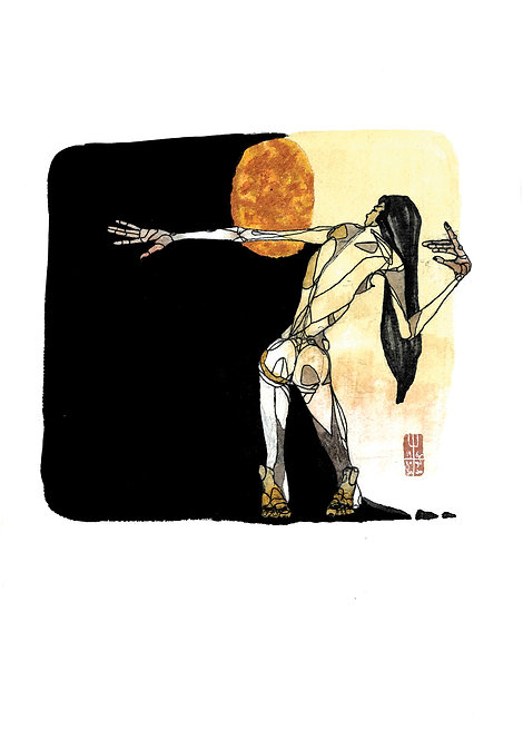 Ilustração  Moonshadow