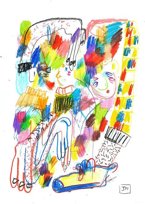 Ilustração Série Pequeno Manual de Pequenas Associações 02