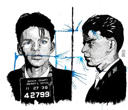 Ilustração Sinatra In Jail