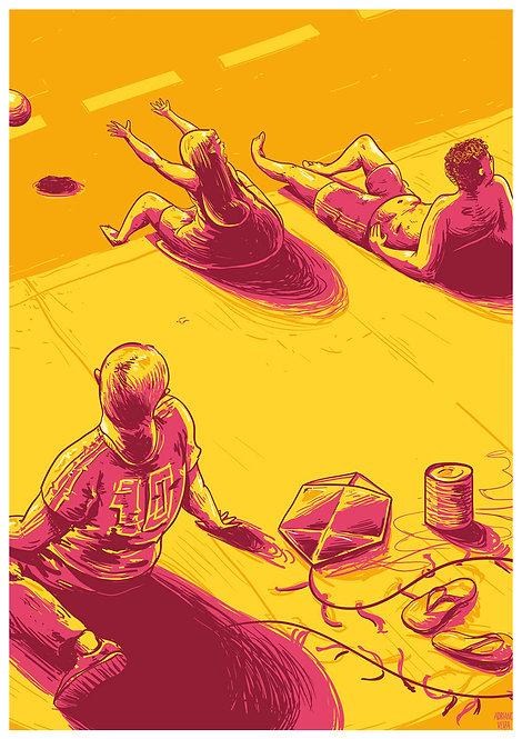 Ilustração Tarde de Domingo