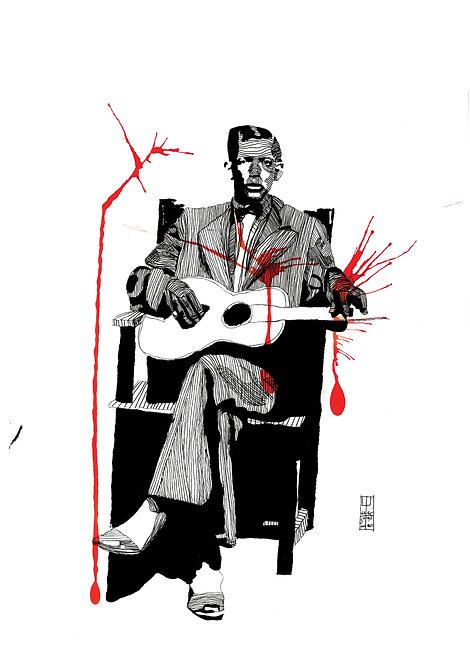 Ilustração Charley Patton