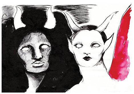 Ilustração Duas