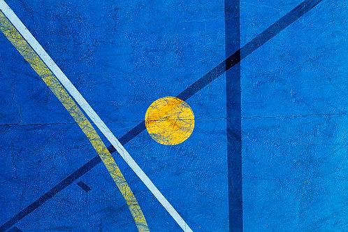 Fotografia Transversal Azul