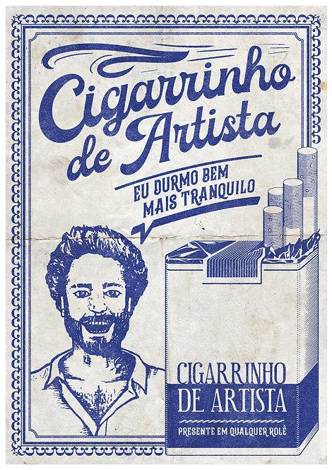 Ilustração Cigarrinho de Artista