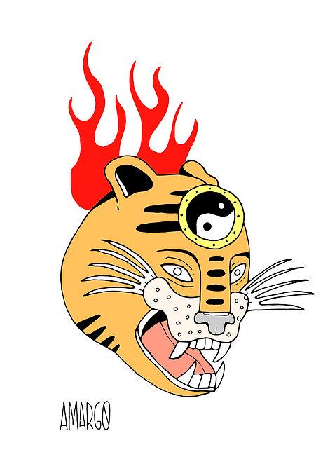 Ilustração Tigre