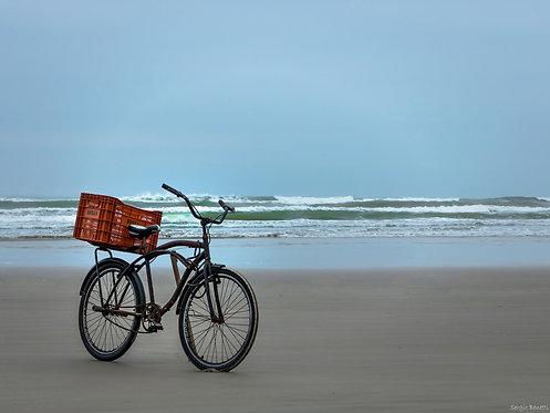 Fotografia Bicicleta Paulista com Caixa
