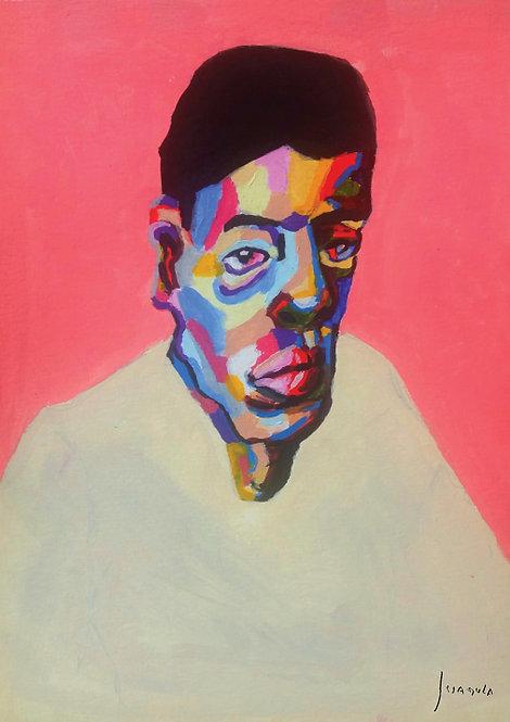 Ilustração Retrato de um Homem