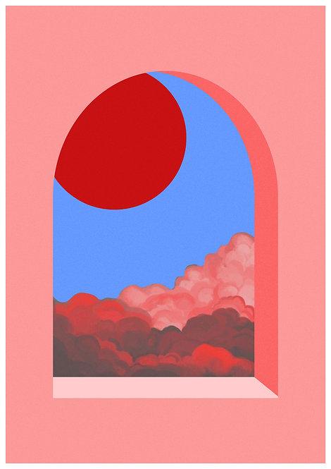 Ilustração Janela I - Salão leste