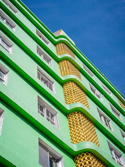 Fotografia Paisagem Urbana - Fachada com cobogós