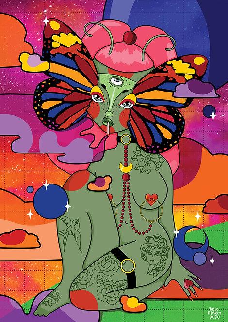 Ilustração Alien Days