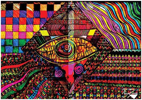 Ilustração O Olho da Deusa