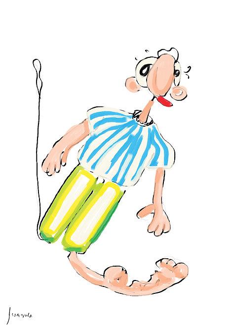 Ilustração Pedro e seu Pijama