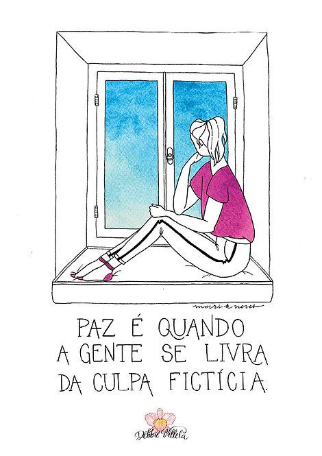 Ilustração Mantra Paz