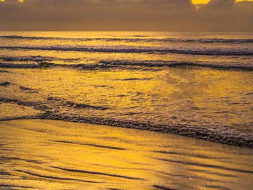 Fotografia Amanhecer Dourado II
