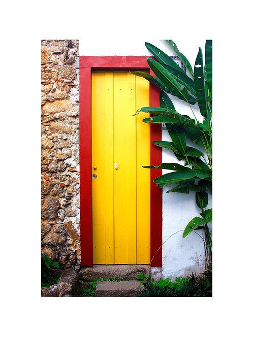 Fotografia Porta Amarela