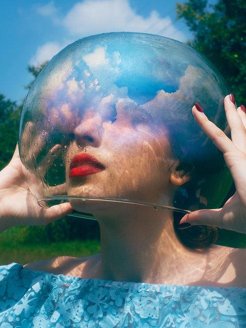 Fotografia Space Girl
