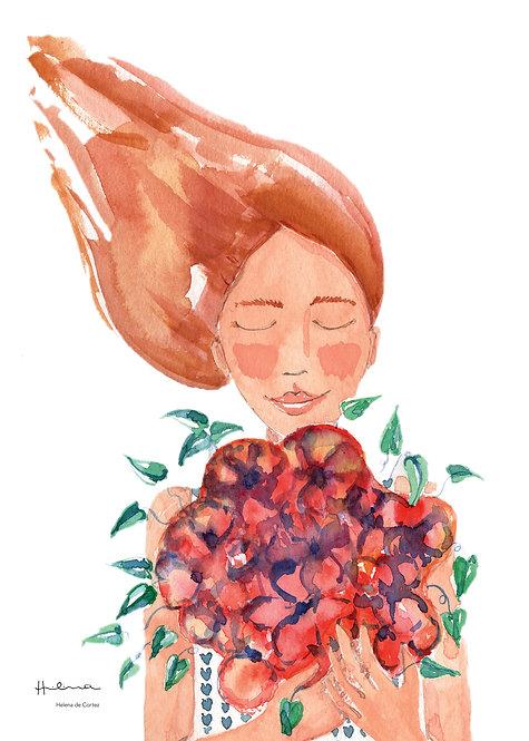 Ilustração Perfume das Flores