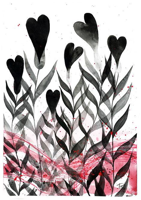 Ilustração Flores Resistência