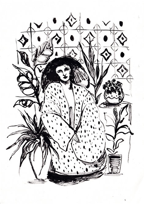 Ilustração Serena
